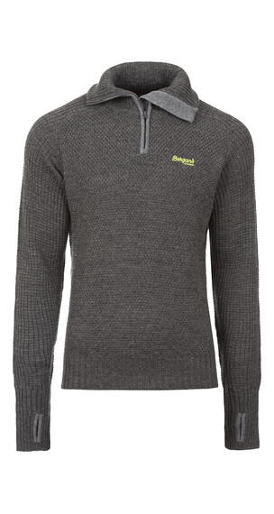Bergans Ulriken Jumper Men Dark Grey Melange